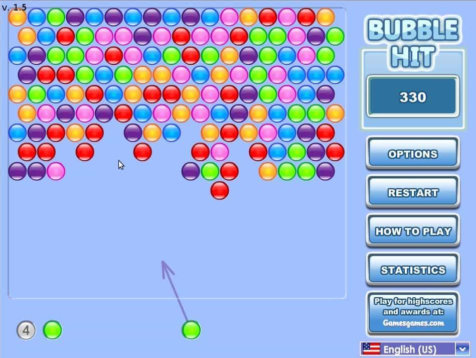 Jetzt Spielen De Bubble Hit