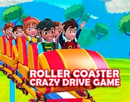 Roller Coaster Crazy Drive Game