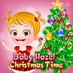 Baby Hazel Tiempo de Navidad